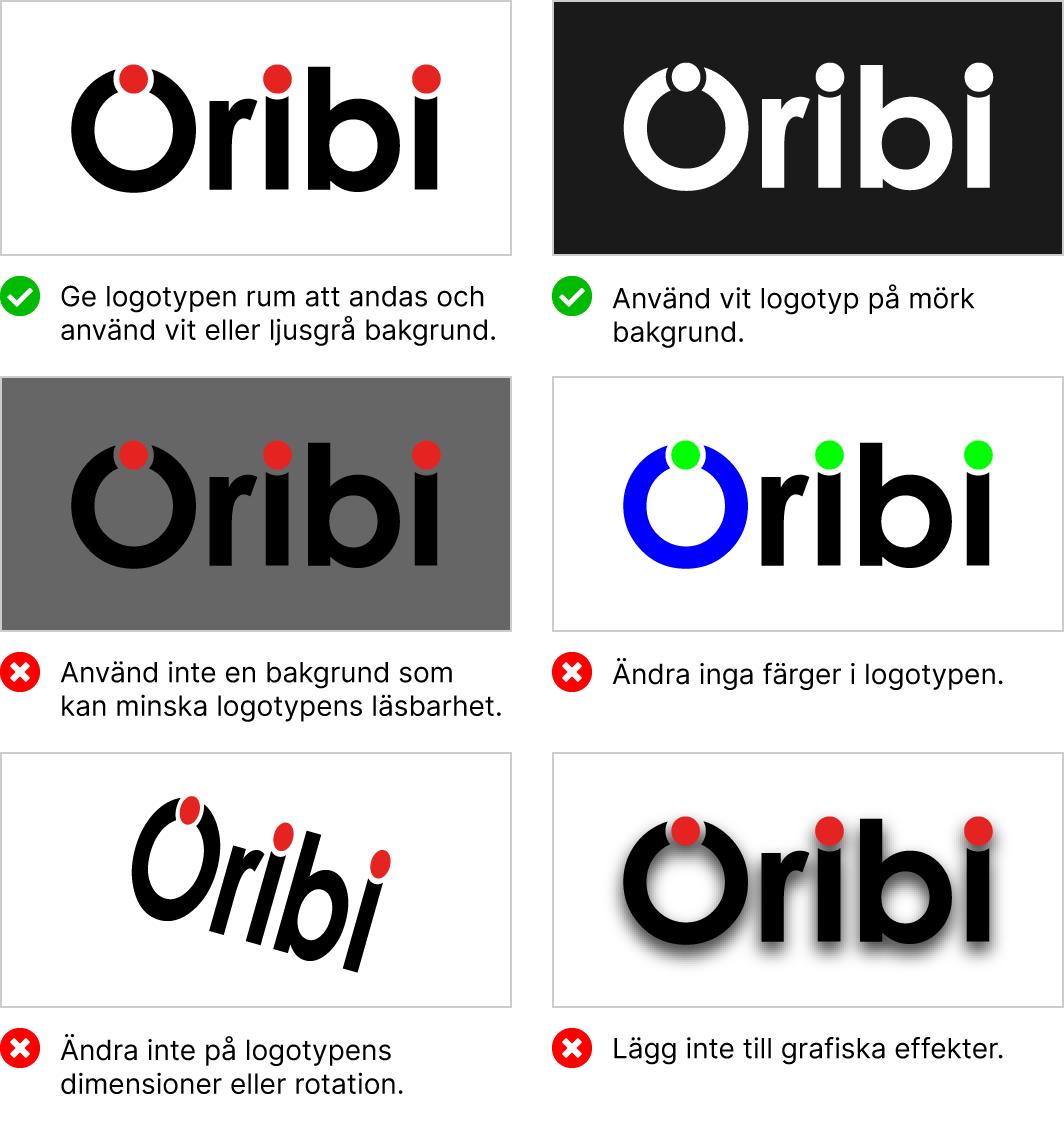 Följ våra grafiska riktlinjer när du använder vår logotyp.